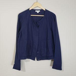 Coldwater Creek Women's Lightweight Linen Jacket
